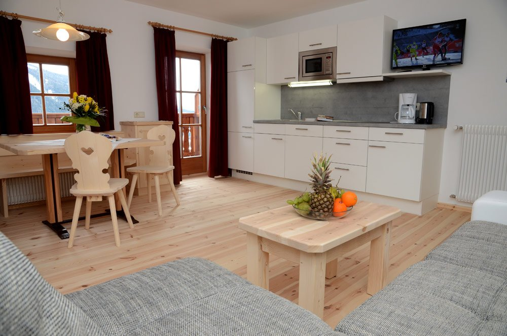 A comfortable holiday in the mountains: holiday apartments in Castelrotto